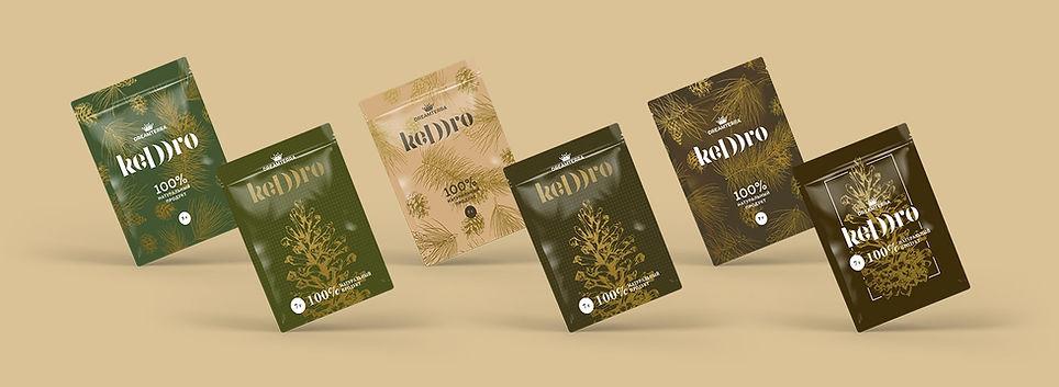 Keddro, дизайн упаковки Keddro