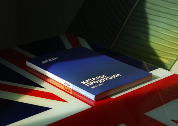 Дизайн и верстка каталога POS-продукции компании Europos