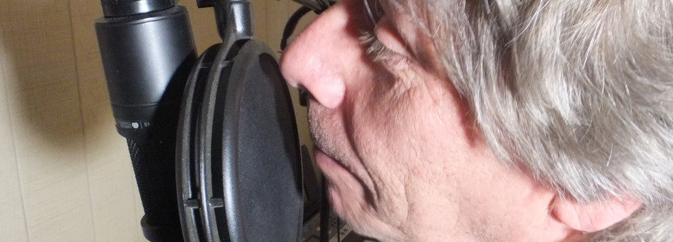 Vocals at the mic