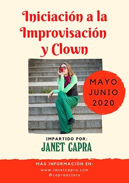 Taller Improvisación y clown por Janet C