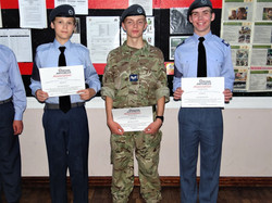 Cadets receive Wings Certificates