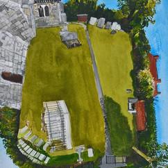 Canewdon churchyard