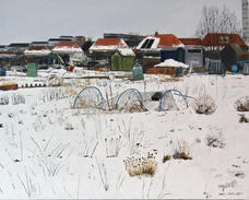 The last snow Exhibited 2021 RBA exhibition Mall Galleries SOLD