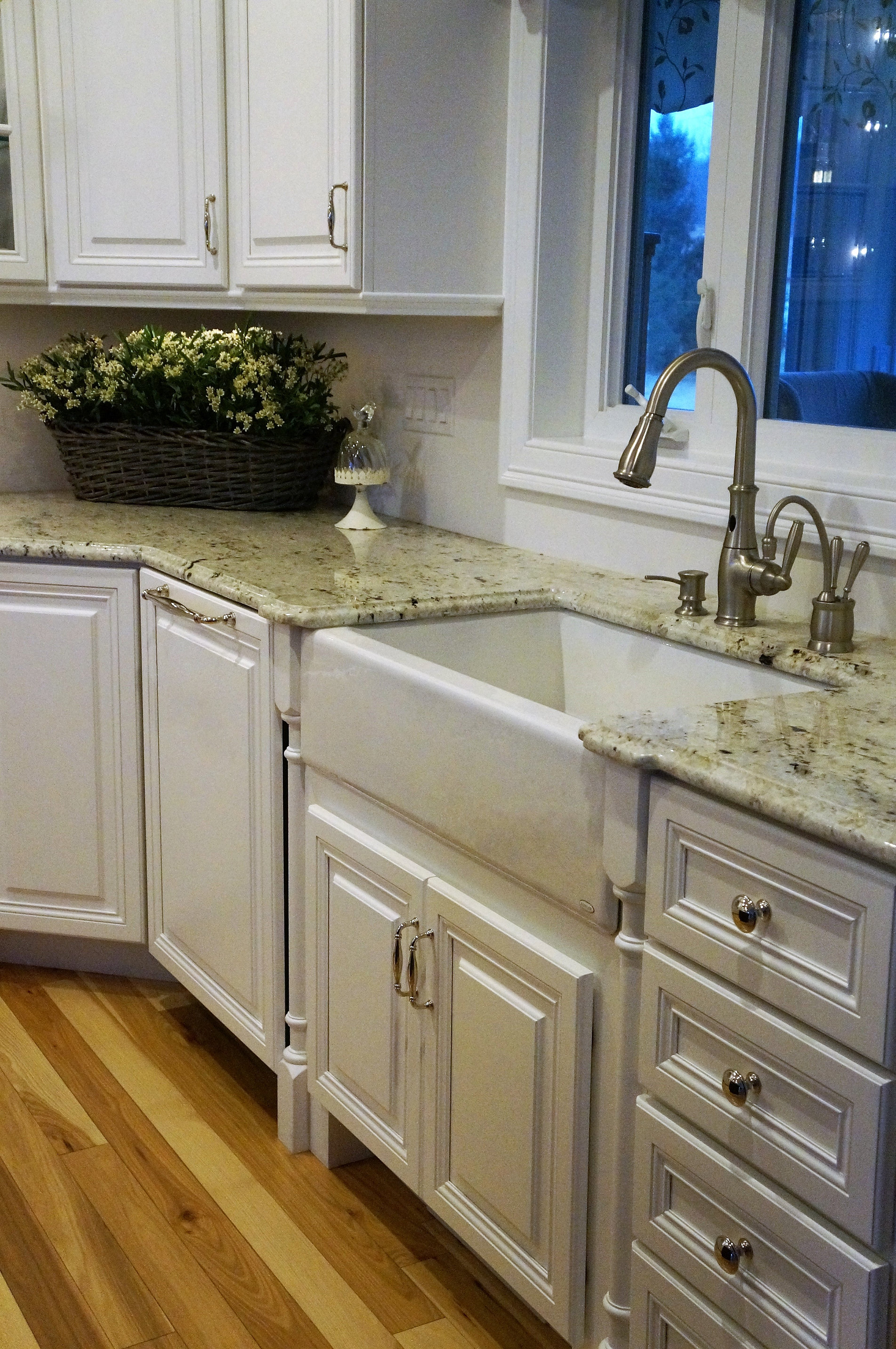Colonial White Granite Kitchen Santo C Despirt Marble And Granite Inc Custom Gallery