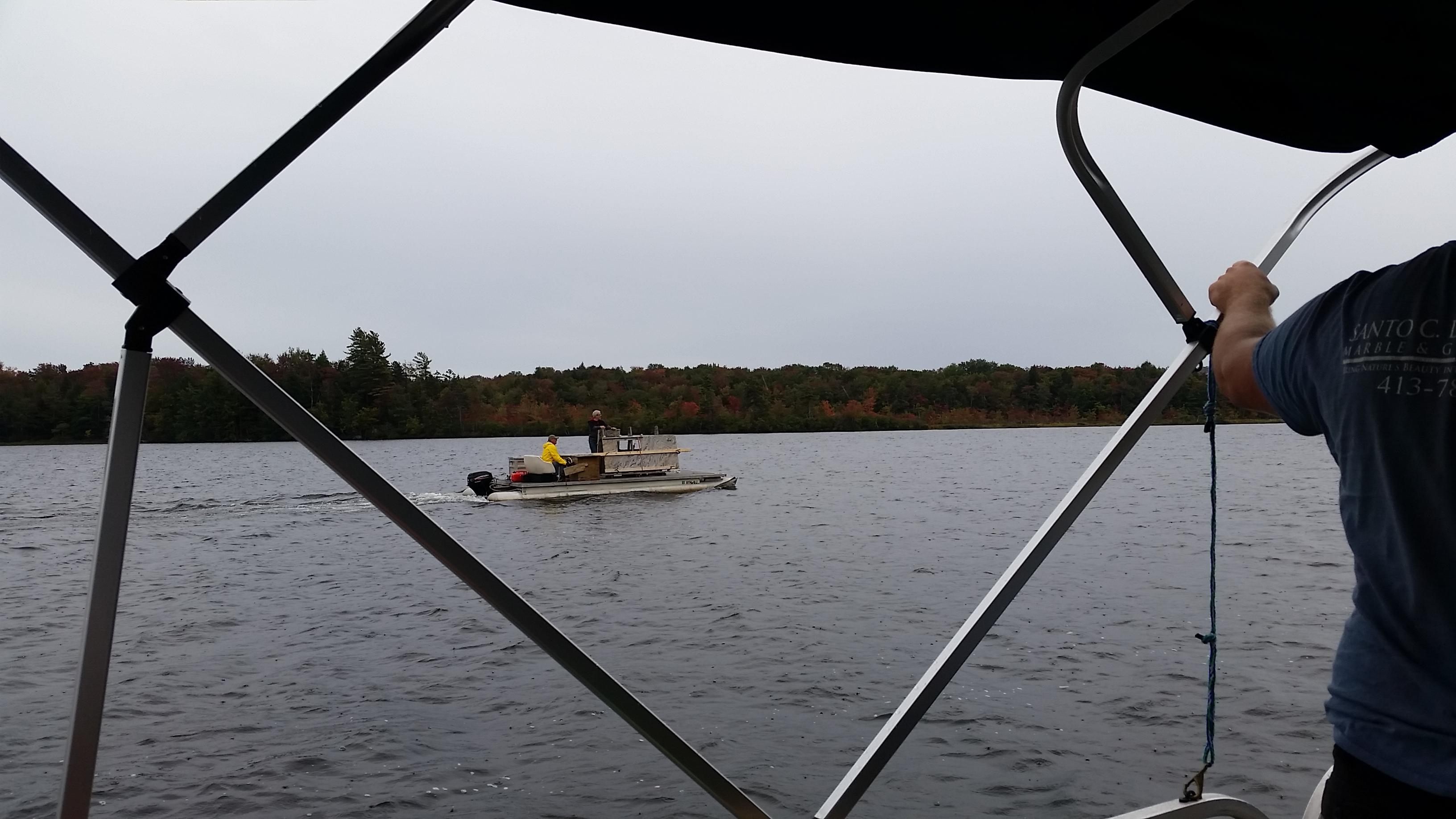 Going Across Canada Lake