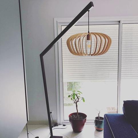 Nouvelle lampe sur mesure _www.mathe-scu