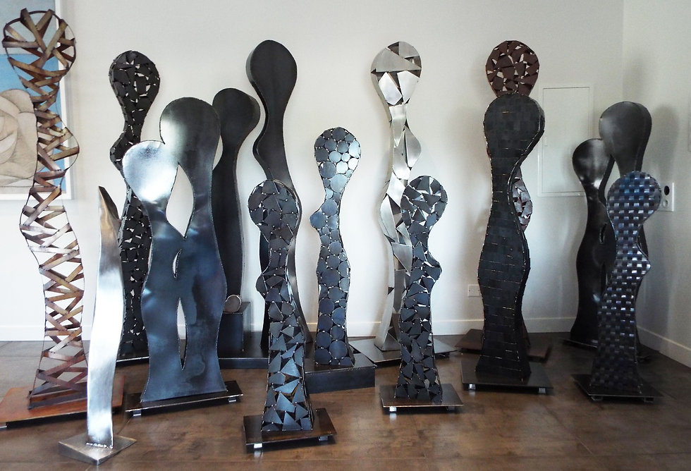 olivier mathe sculptures