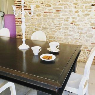 table de cuisine massive acier