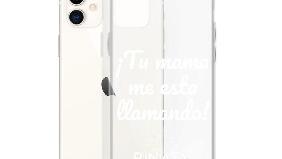 Carcasa iPhone Tu Mama Blanco