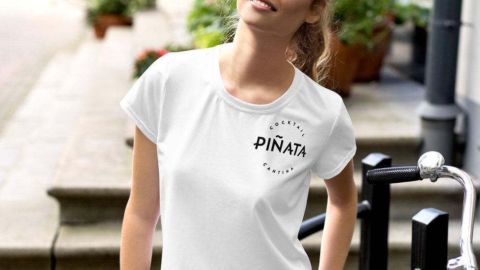 Camiseta corta Dama con Logo Piñata