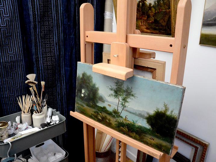 © Atelier Béatrice Célié - Artisan d'Art - Restauratrice de tableaux