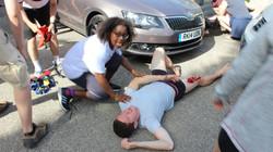 Motor sport injuries