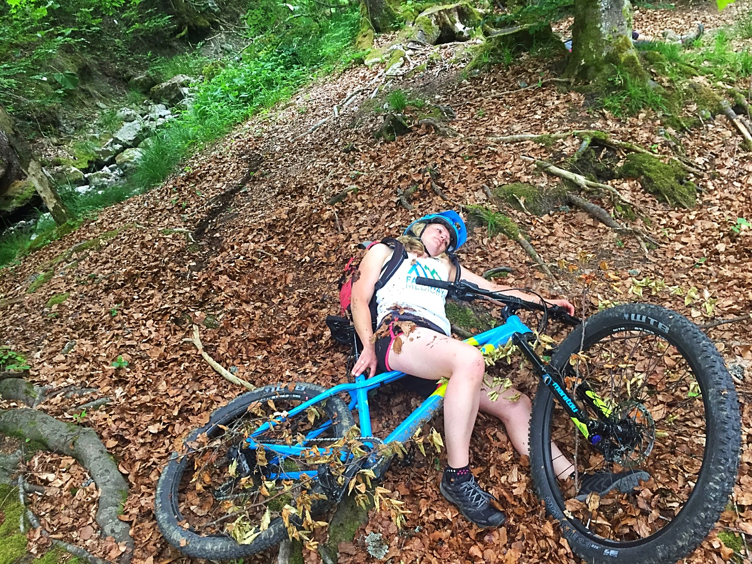 Mountain Biking accidents