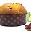 Thumbnail: Panettone aux poires confites et au chocolat