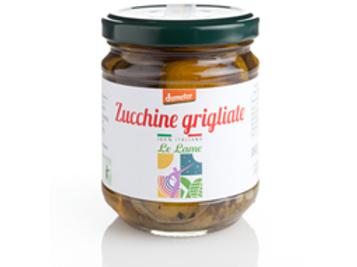Courgettes grillées à l'huile d'olive extra vierge