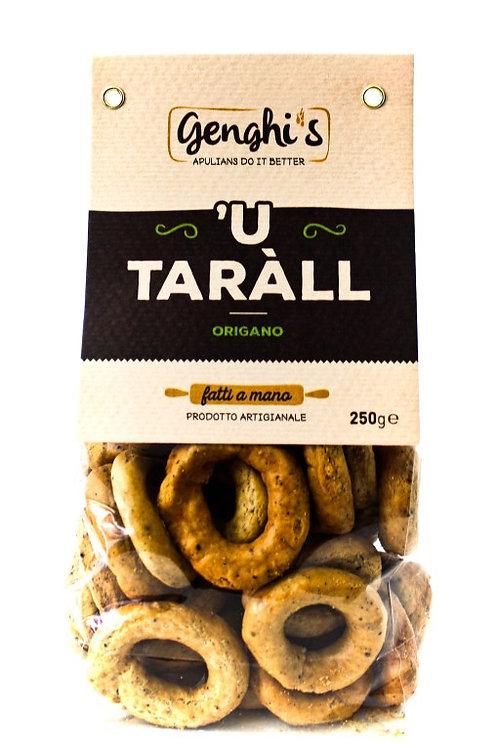 Tarallini à l'origan