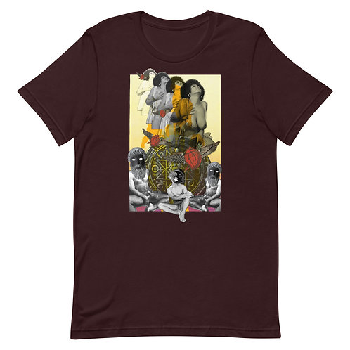 The Chariot- Tarot Erotique- Short-Sleeve Unisex T-Shirt