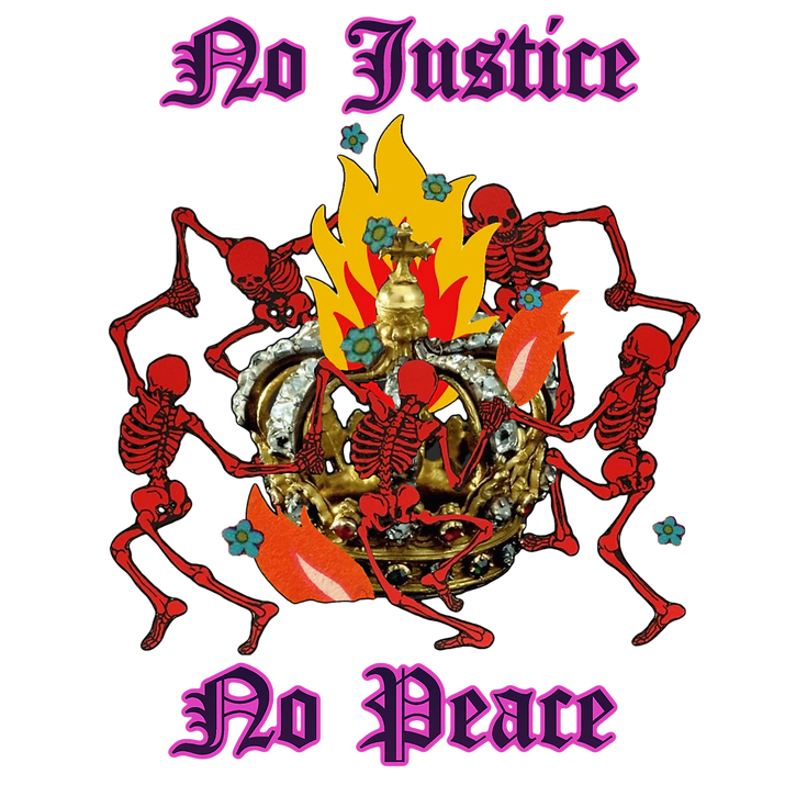No Justice No Peace Defund the Police