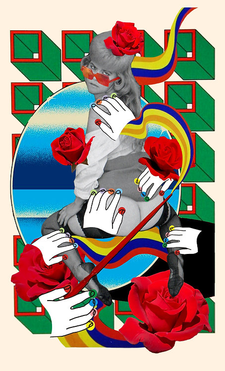 Ace of Wands- Fine Art Print