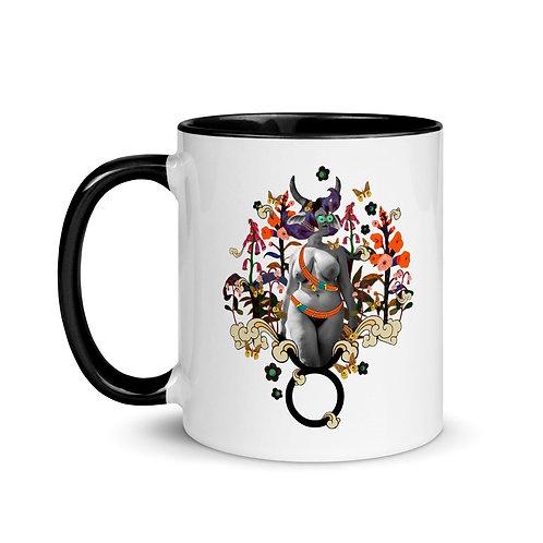 Taurus- Zodiac Series- Mug with Color Inside