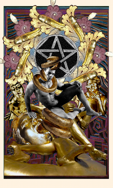 King of Pentacles - Fine Art Print