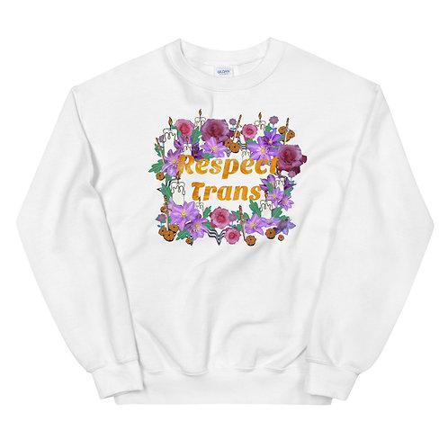 Respect Trans- visibiliT donation- Unisex Sweatshirt