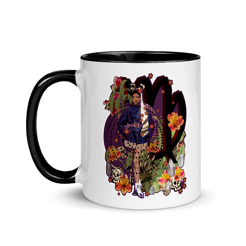 Virgo- Zodiac Series- Mug with Color Inside