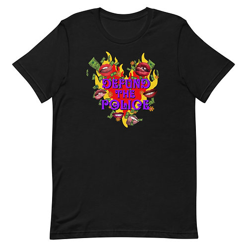 Defund the Police- Anti police terror project donation Unisex T-Shirt