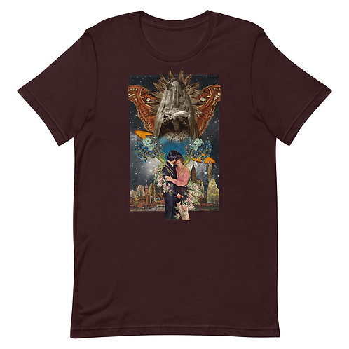 The Lovers- Tarot Erotique- Short-Sleeve Unisex T-Shirt