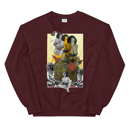 The Chariot- Tarot Erotique- Unisex Sweatshirt