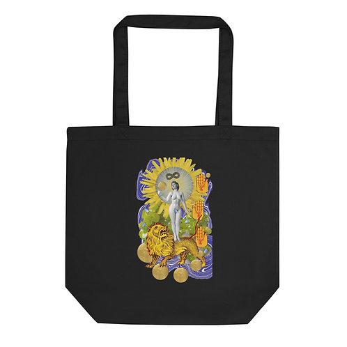 Strength- Tarot Erotique- Eco Tote Bag