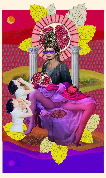 High Priestess- Fine Art Print
