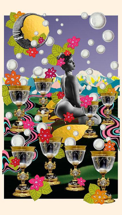 Eight of Cups- Fine Art Print