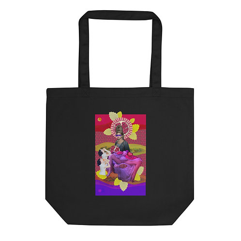 High Priestess- Tarot Erotique- Eco Tote Bag