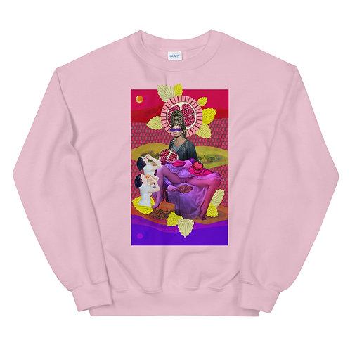 The High Priestess- Tarot Erotique- Unisex Sweatshirt