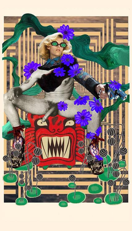 King of Wands - Fine Art Print