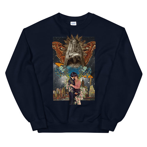 The Lovers- Tarot Erotique- Unisex Sweatshirt