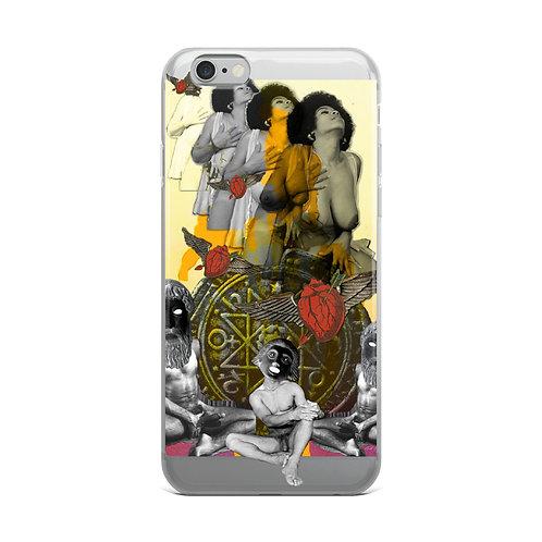 The Chariot- Tarot Erotique- iPhone Case