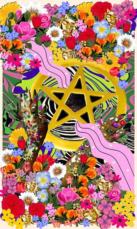 Ace of Pentacles- Fine Art Print
