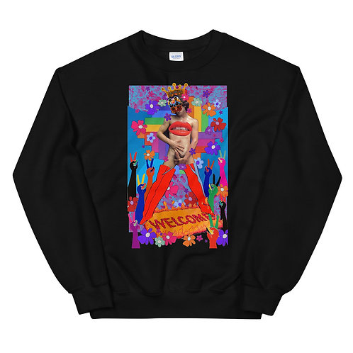 The Emperor- Tarot Erotique- Unisex Sweatshirt