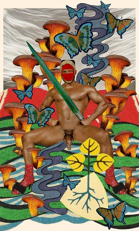 King of Swords - Fine Art Print