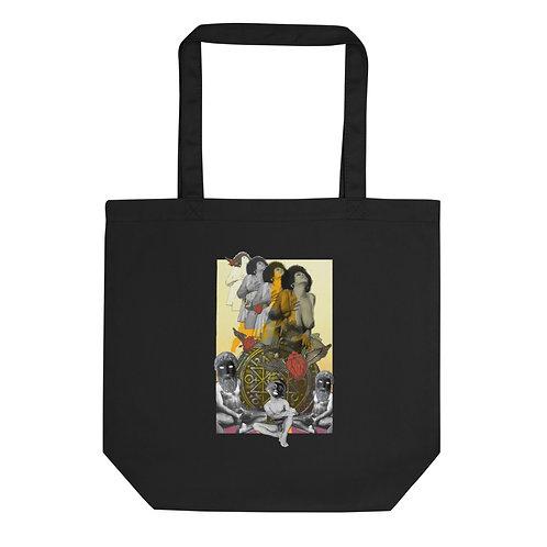 The Chariot- Tarot Erotique- Eco Tote Bag