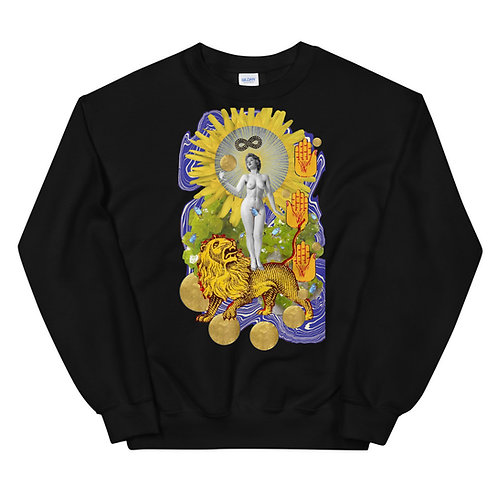 Strength- Tarot Erotique- Unisex Sweatshirt