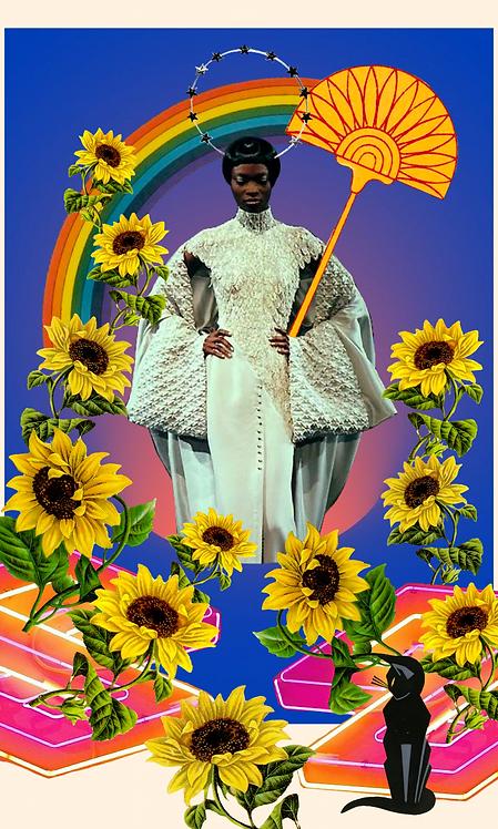 Queen of Wands- Fine Art Print