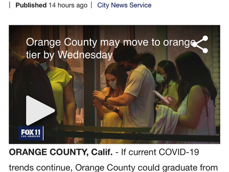 オレンジカウンティ のいま。