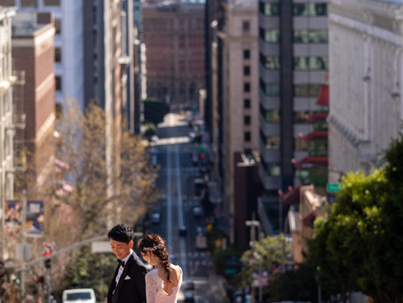 美しい街・サンフランシスコでフォトウェディング