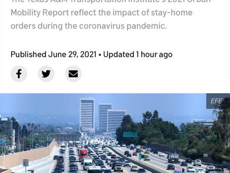 ロサンゼルスのここだけは嫌い。
