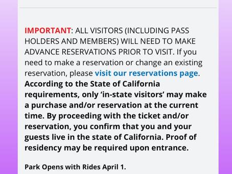 カリフォルニア、続々と再開。