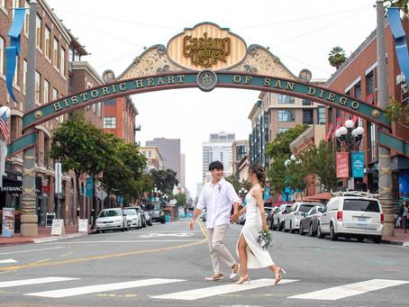 サンディエゴのダウンタウン。