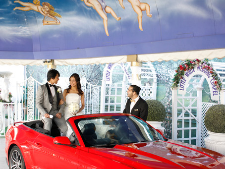 【ラスベガス】ドライブスルーで結婚式